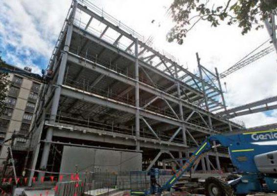 ساختمان جدید دانشکده علوم دانشگاه کانتربری مجهز به مهاربند کمانش تاب (BRB) به عنوان میراگر
