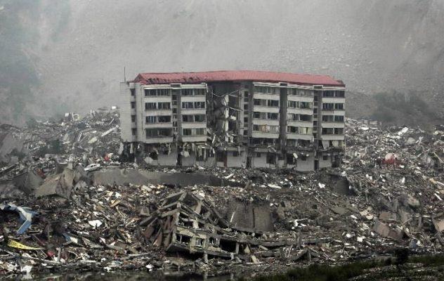 ویرانی سازه های غیر ایمن در زلزله