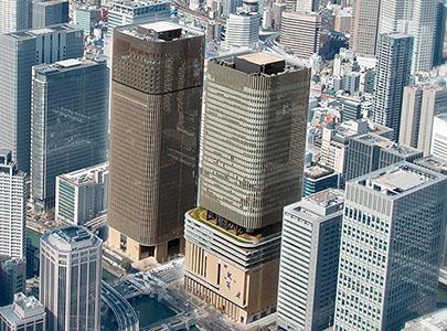 ساختمان های بلند مرتبه جداسازی لرزه ای شده در ژاپن
