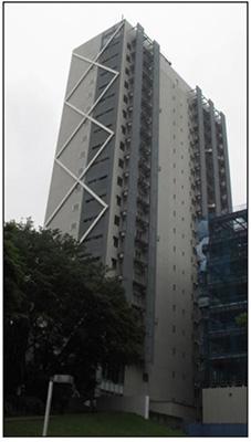 انستیتوی تکنولوژی ژاپن، ساختمان J2 مجهز به سیستم ترکیبی میراگر و جداساز لرزه ای