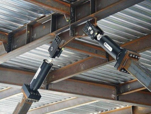 کنترل ارتعاشات لرزه ای سازه ها با میراگر ویسکوز