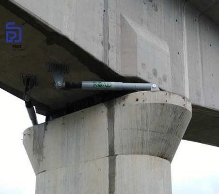 استفاده از سامانه های میراگر ویسکوز (دمپر ویسکوز) شرکت ROAD در پل Xi'an