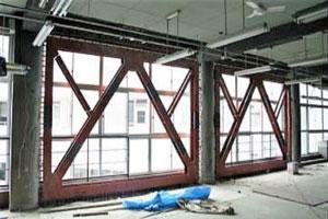 روش های نصب مهاربند کمانش تاب در قاب بتنی، BRB، RC building