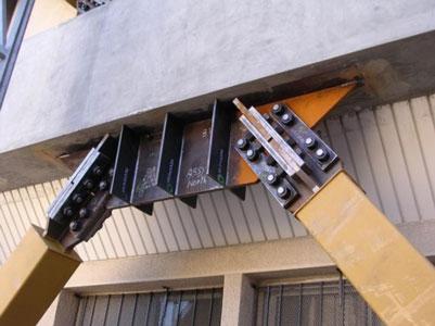 مقاوم سازی سازه های بتنی با مهاربند کمانش تاب BRB - نمونه ای از پروژه های مقاوسازی ساختمان بتنی با مهاربند کمانش تاب
