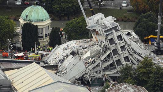 آسیب پذیری سازه های بتنی در برابر زلزله، زمین لرزه