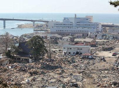 زلزله توهوکو، سونامی توهوکو، فاجعه، ایشینوماکی