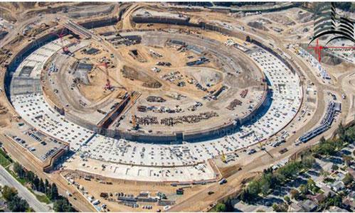 جداساز اصطکاکی پاندولی پروژه اپل پارک