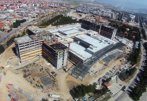 جداگر لرزه ای بیمارستان شهر اسپارتا