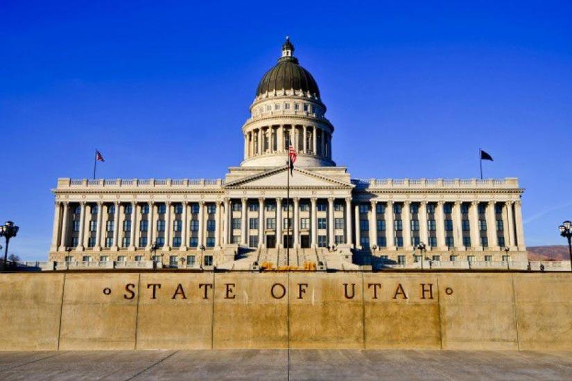 جداسازی لرزه ای ساختمان دولتی یوتا