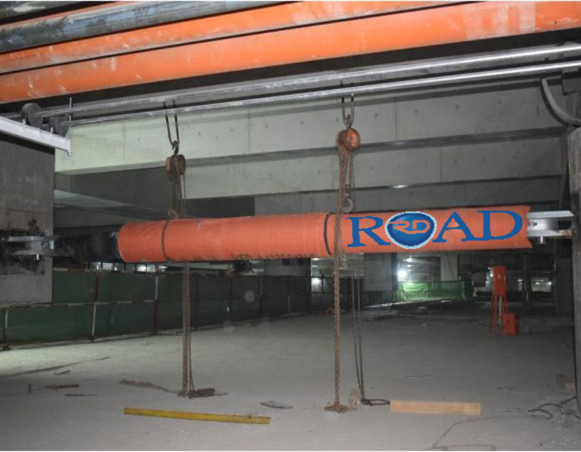 فرودگاه بین المللی پکن، میراگر ویسکوز شرکت ROAD