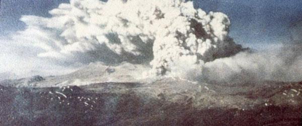 فوران آتشفشان در خلال زلزله بزرگ شیلی