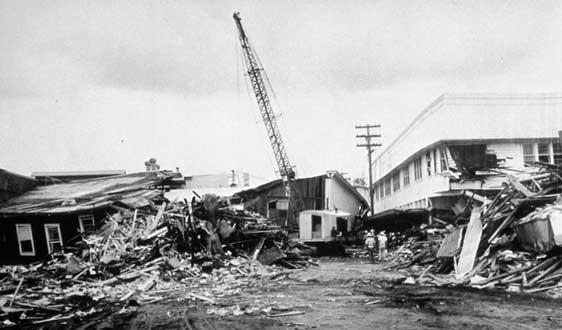 زلزله بزرگ 9.5 ریشتری شیلی در سال 1960