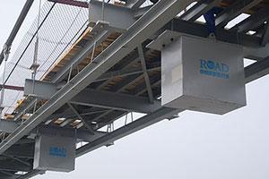 میراگر جرمی تنظیم شونده (TMD) شرکت Road. تصویری از کاربرد TMD در کاهش ارتعاشات پل ها